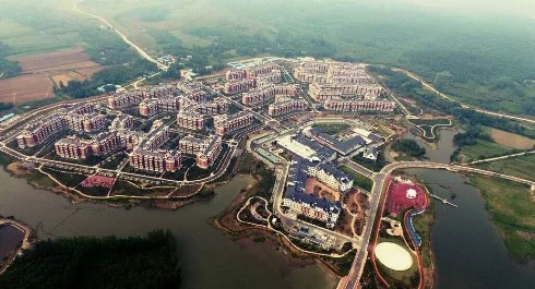 Tianchuan Lake Phase One - Aerial 2